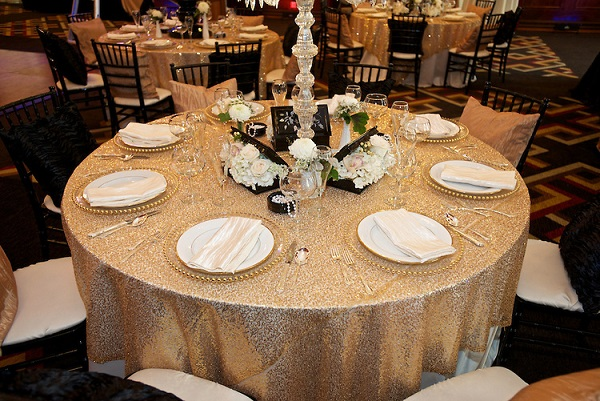 Showcase ✦ Great \'Glitzy\' Gatsby | Modern Los Angeles Weddings